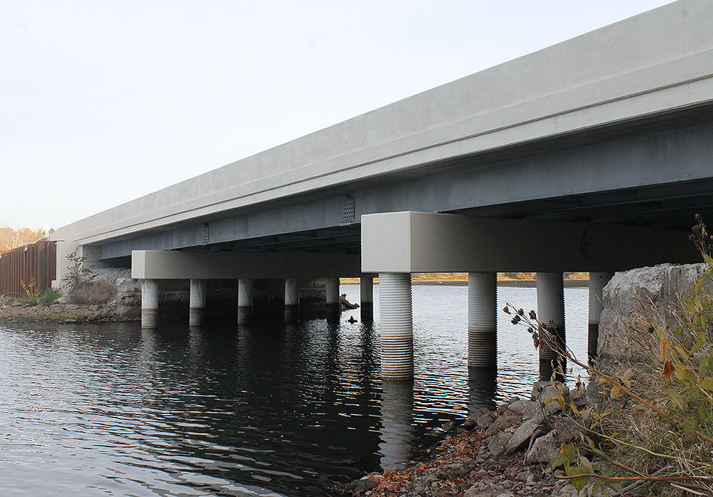 Route 14 Bridge over Lake Rockwell After
