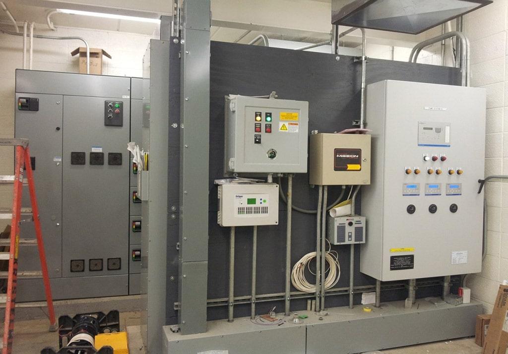 Pump Station Controls, VFD and SCADA Panels